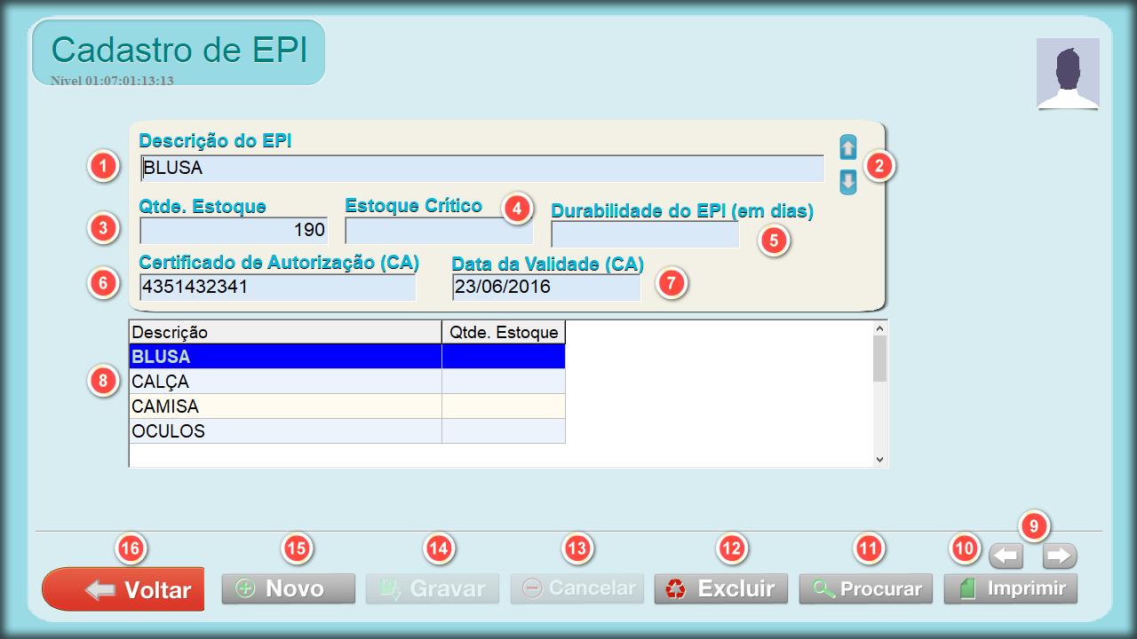 5e21992a40656 Tabela de EPI
